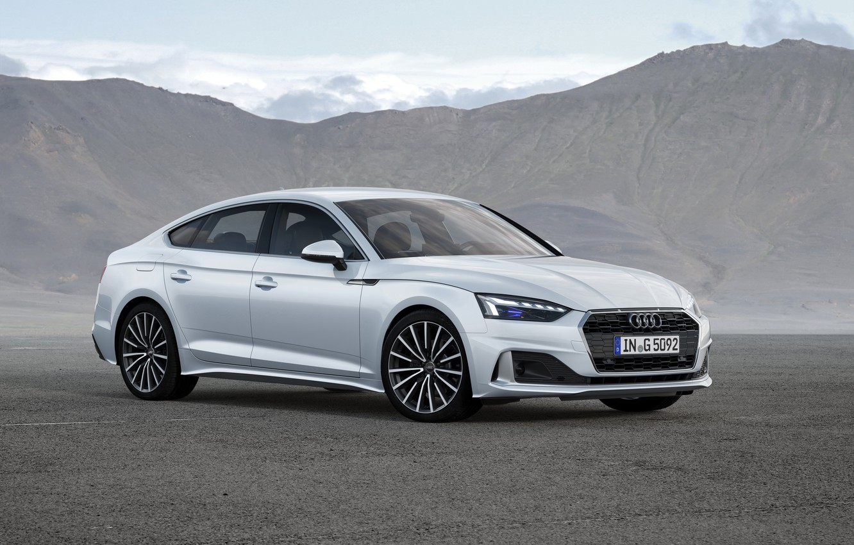 Фото обои Audi, Worldwide, 2019-20, g-tron, A5 Sportback 40