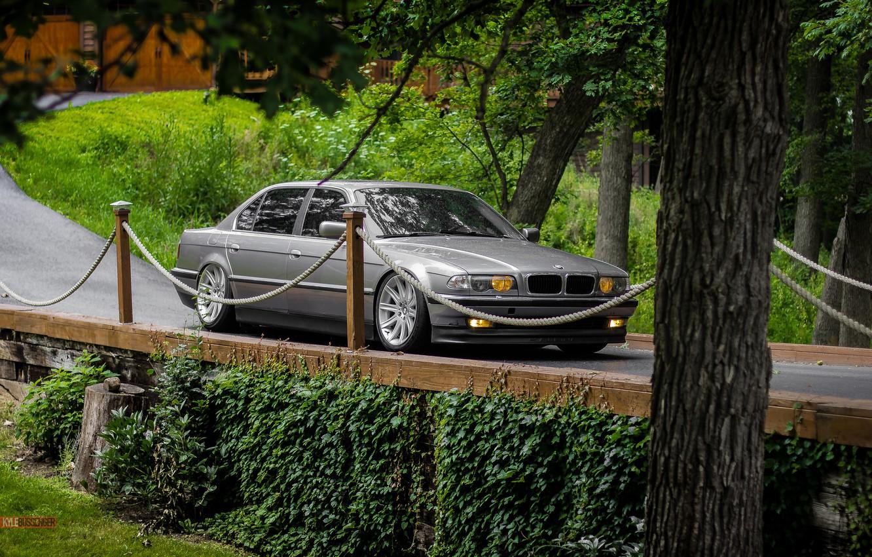 Фото обои car, bmw, бмв, бумер, e38, 7 series, е38