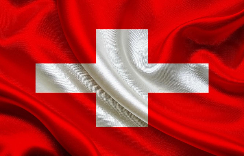 Фото обои фон, крест, Швейцария, флаг, red, Switzerland, швейцария, cross, fon, flag, switzerland