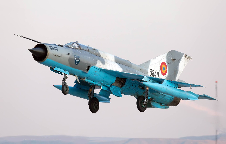 Обои ВВС Румынии, ОКБ Микояна и Гуревича, МиГ-21, pilot, Истребитель. Авиация foto 10