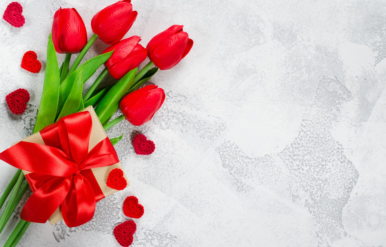 Обои Red, tulips. Разное foto 9