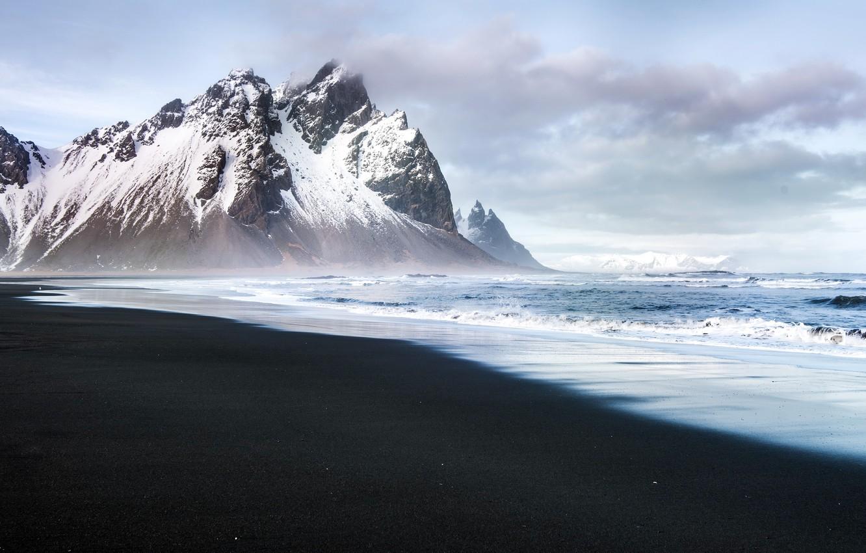 Фото обои Iceland, East, Hofn