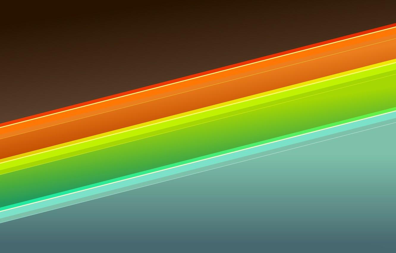 Фото обои линии, краски, объем, слой