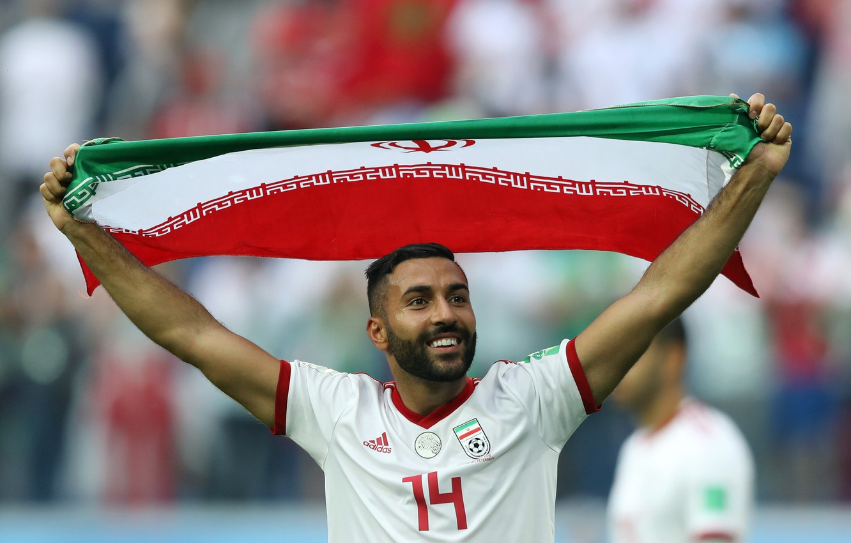 Фото обои Football, Sport, Soccer, Flag, Iran, Iranian, Team Melli, Iran National Football Team, Ghoddos, Saman Ghoddos, …