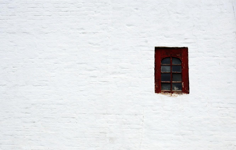 Фото обои фон, обои, минимализм, окно, белая стена, минимум