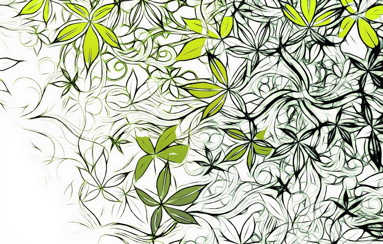 Фото обои цветы, узор, вектор, текстура, design, art, background, pattern