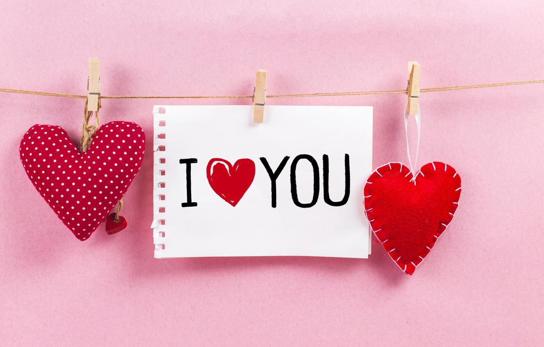 Фото обои любовь, сердце, сердечки, red, love, romantic, hearts, valentine's day, I love You