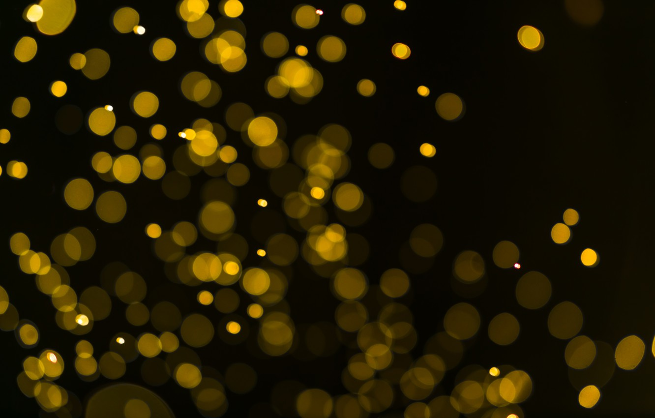 Фото обои фон, golden, золотой, gold, new year, background, боке, bokeh, celebration, sparkle