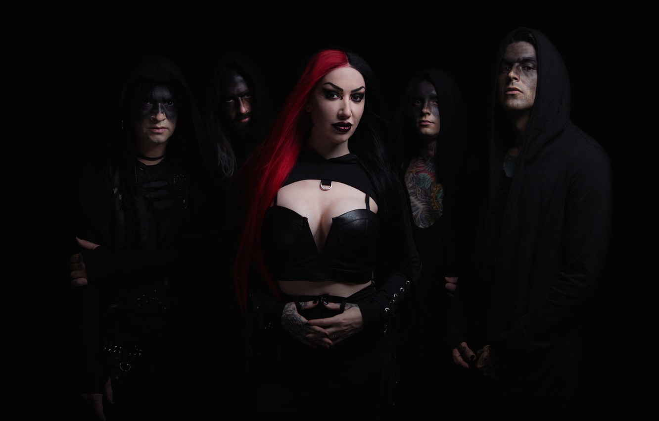 Фото обои Post-hardcore, Alternative metal, Ash Costello, New Years Day