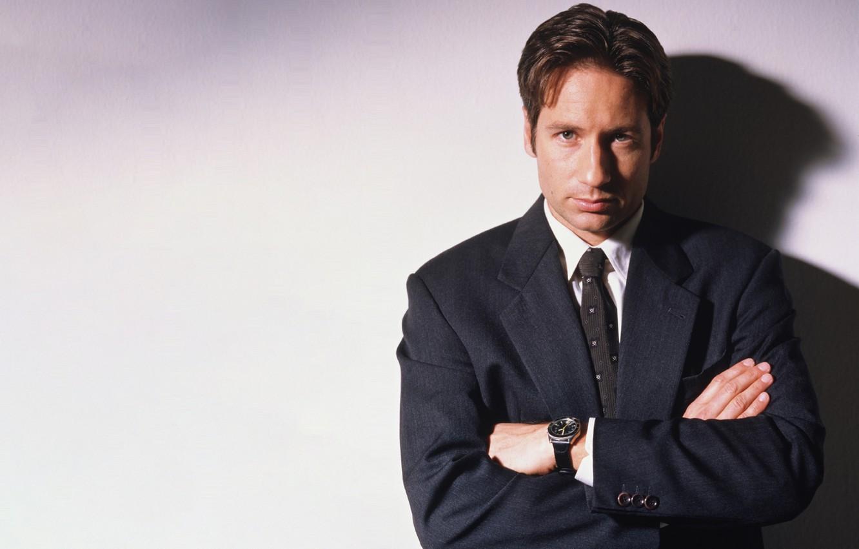 Фото обои Фокс, сериал, The X-Files, Секретные материалы, Малдер