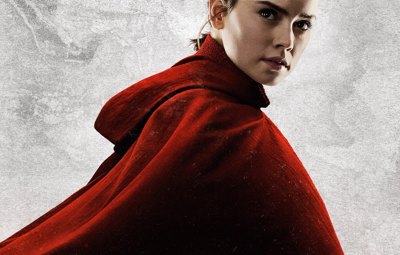 Фото обои Star Wars, Rey, The Last Jedi