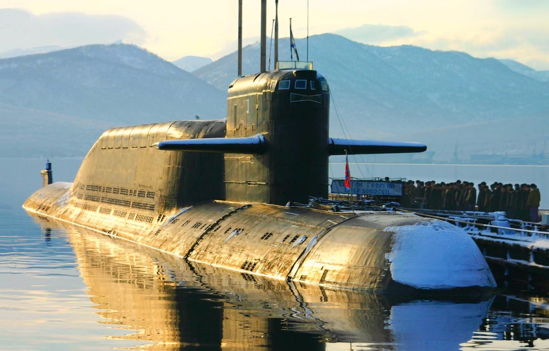 картинка атомный подводный крейсер тот