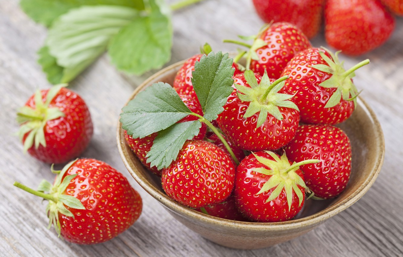 Обои ягода, клубника. Еда foto 13