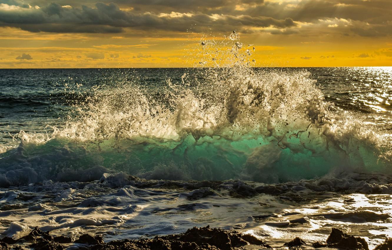 Обои волны. Пейзажи foto 18