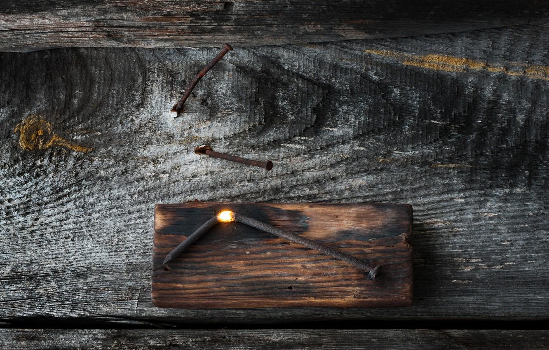 Фото обои горячий, Светильник, эффект, гвоздь