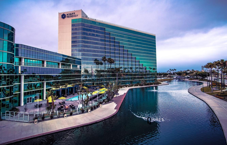 Фото обои Калифорния, США, отель, Long Beach