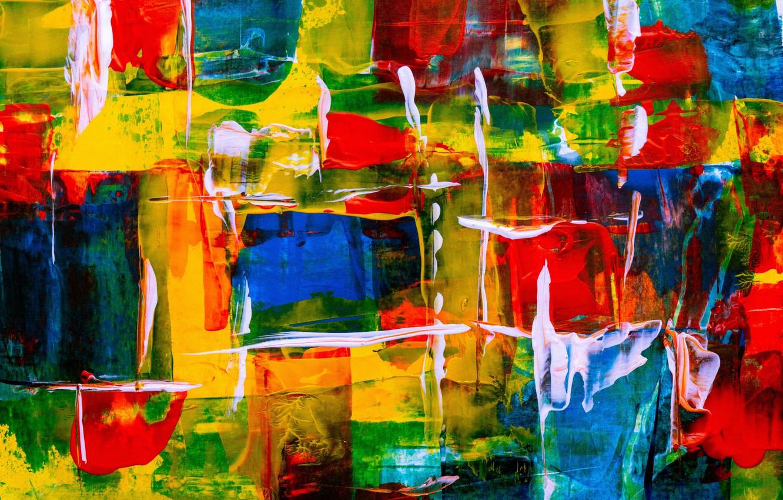 Фото обои линии, абстракция, краски, colorful, мазки кисти, color texture