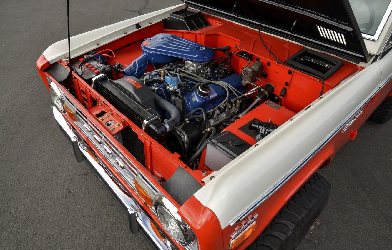 Фото обои Ford, 1971, мотор, Wagon, Bronco, Baja Edition, Stroppe