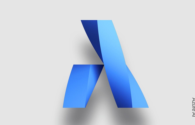 Фото обои абстракция, обои, узор, Microsoft, объём, Azure AI