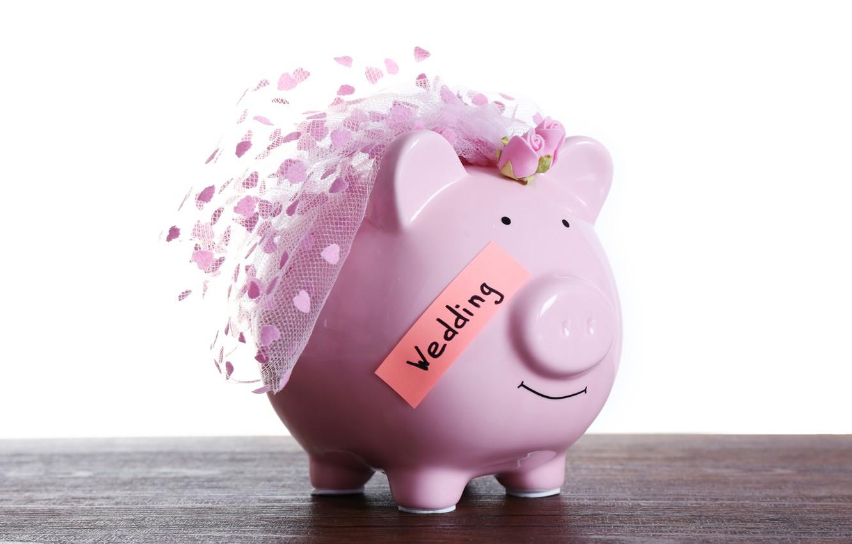 Фото обои party, money, wedding, savings