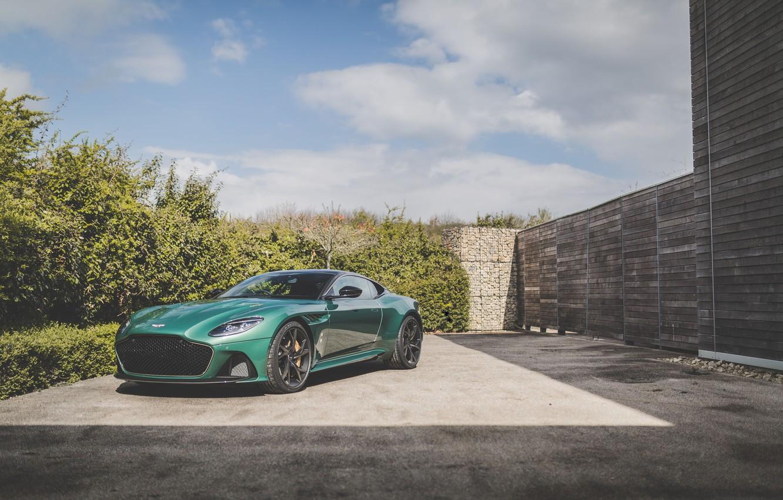 Фото обои машина, Aston Martin, спорткар, Superleggera, DBS 59