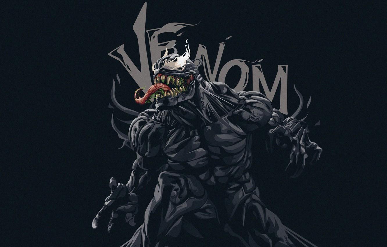 Фото обои Язык, Зубы, Marvel, Веном, Venom, Симбиот, Creatures, Venom Fanart, by Fauzan Destian, Fauzan Destian