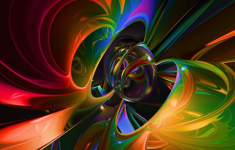 Обои шар, краски. Абстракции foto 9