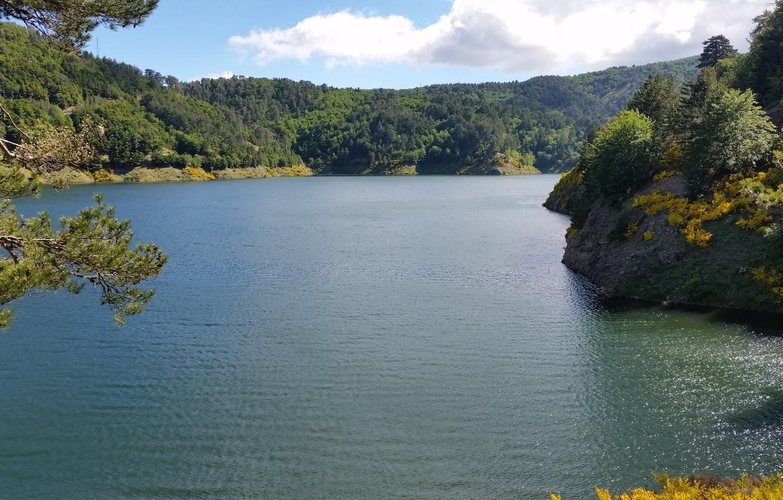 Фото обои trees, landscape, Italy, lake, Calabria, Aspromonte National Park, Aspromonte