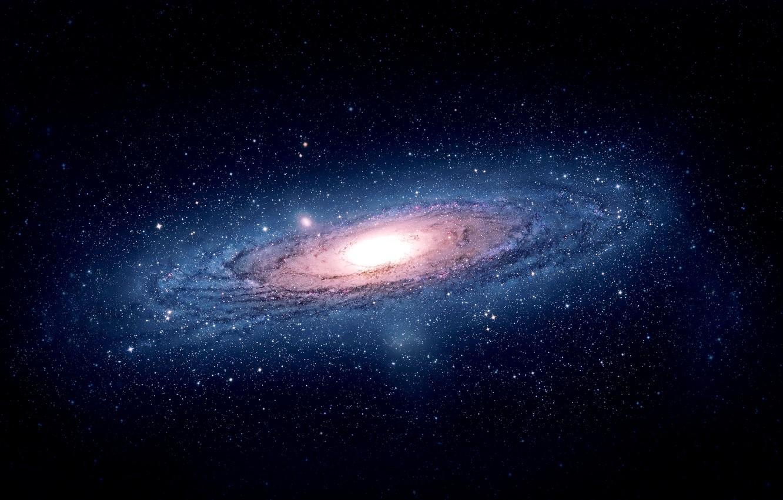 Фото обои Солнце, Галактика, Звезды, Космос, Вселенная, Stars, Space, Universe, Sun, M31, Galactic