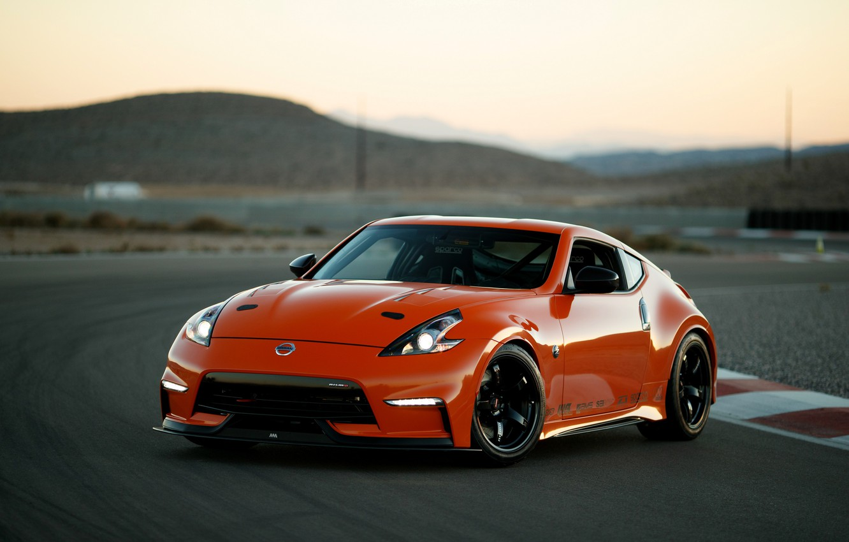 Фото обои купе, Nissan, трек, 2018, 370Z, Nismo, Project Clubsport 23