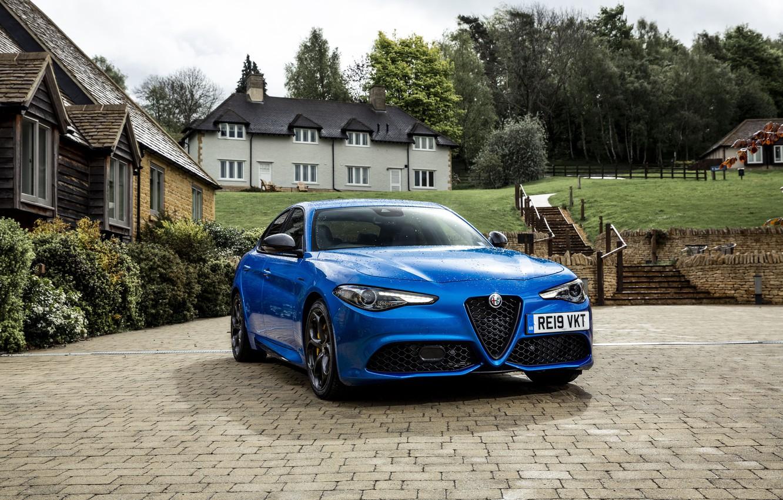 Фото обои Alfa Romeo, Giulia Veloce