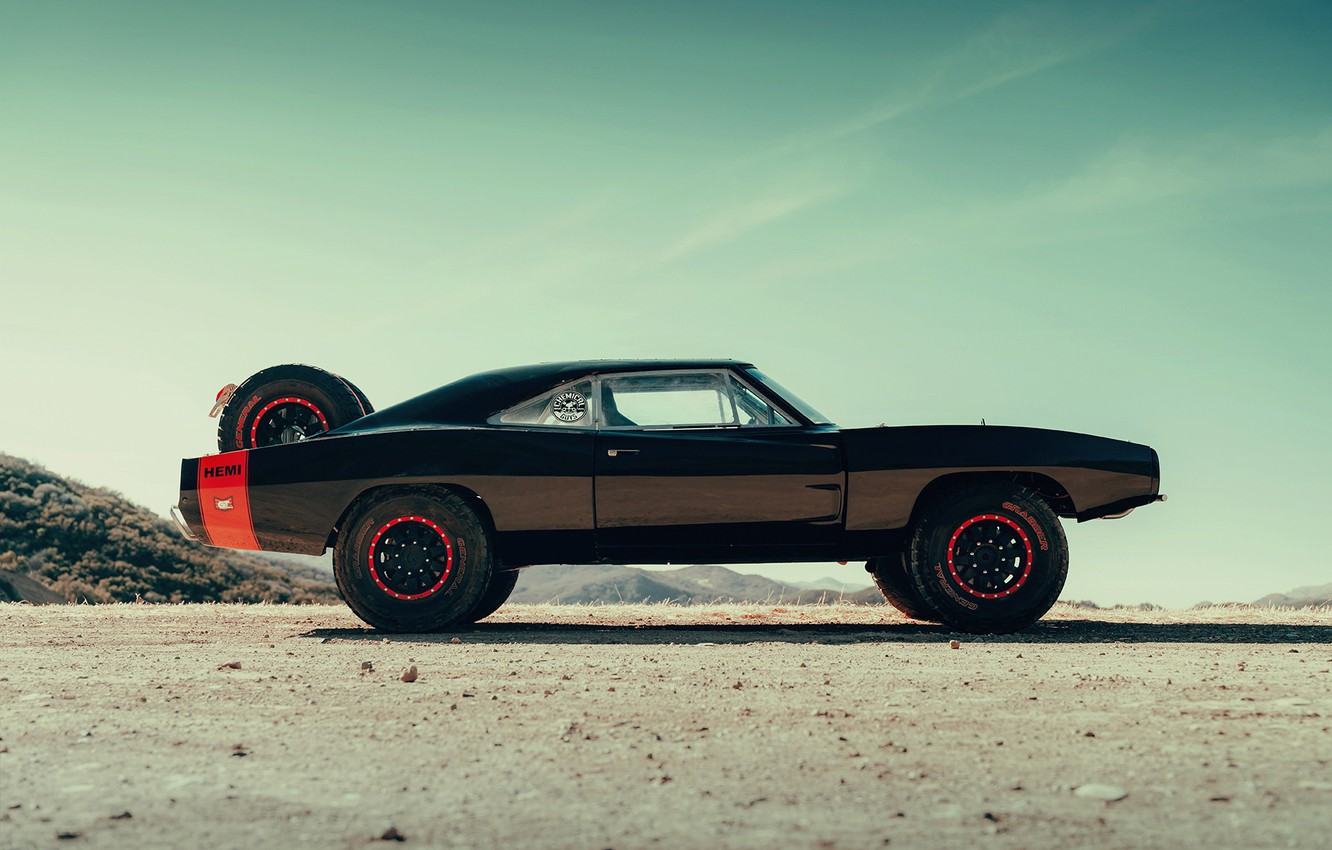 Фото обои 1970, Off-Road, Charger R/T