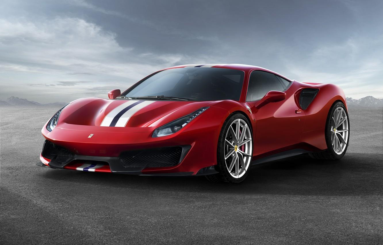 Фото обои авто, Ferrari, суперкар, Ferrari 488 Pista