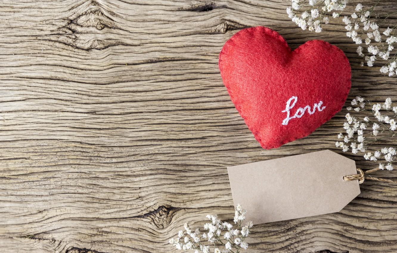 Фото обои любовь, цветы, сердце, red, love, vintage, heart, wood, flowers, beautiful, romantic
