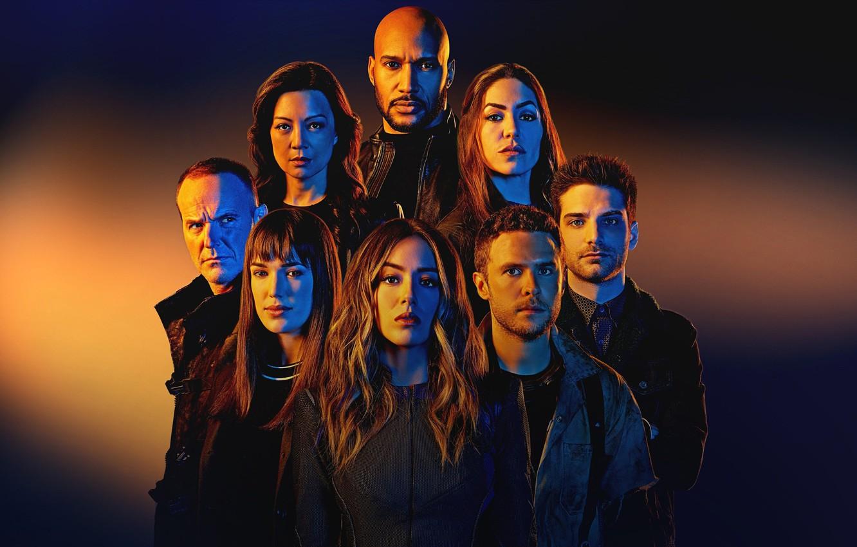 Фото обои взгляд, сериал, актеры, Фильмы, Agents of S.H.I.E.L.D, Агенты Щ.И.Т