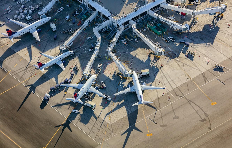 Фото обои Los Angeles, International Airport, Delta Terminal