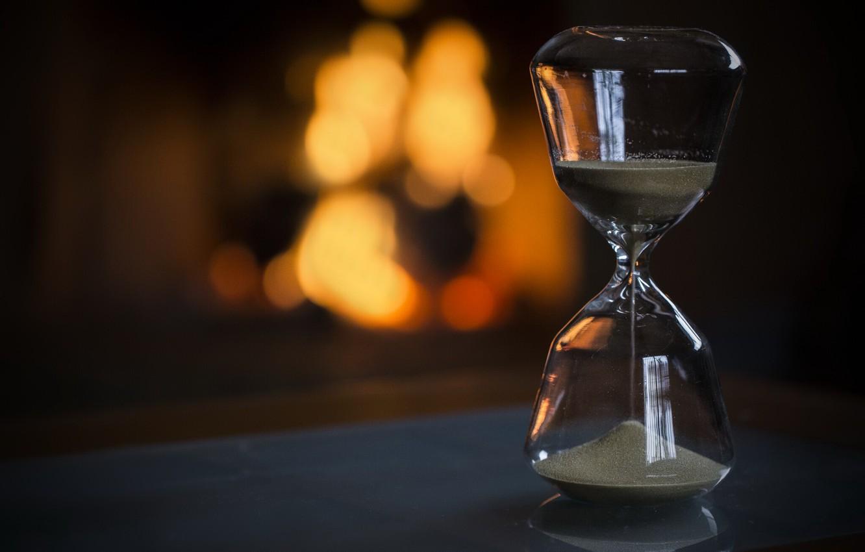 Фото обои время, жизнь, песочные часы