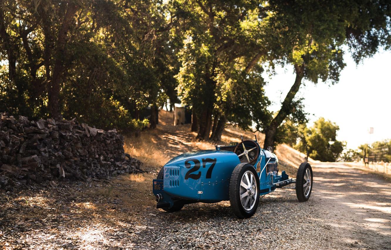 Фото обои vintage, retro, classic, 1927, sporcar, Bugatti Type 35C