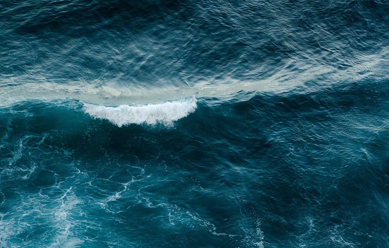 Фото обои море, волны, вода, waves, sea, water