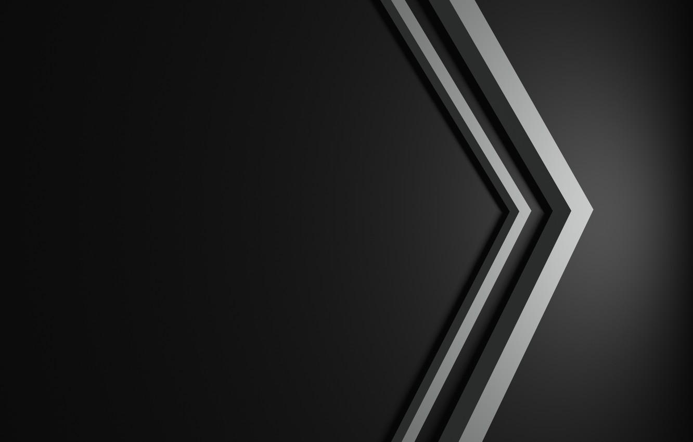 Фото обои minimalism, line, black background