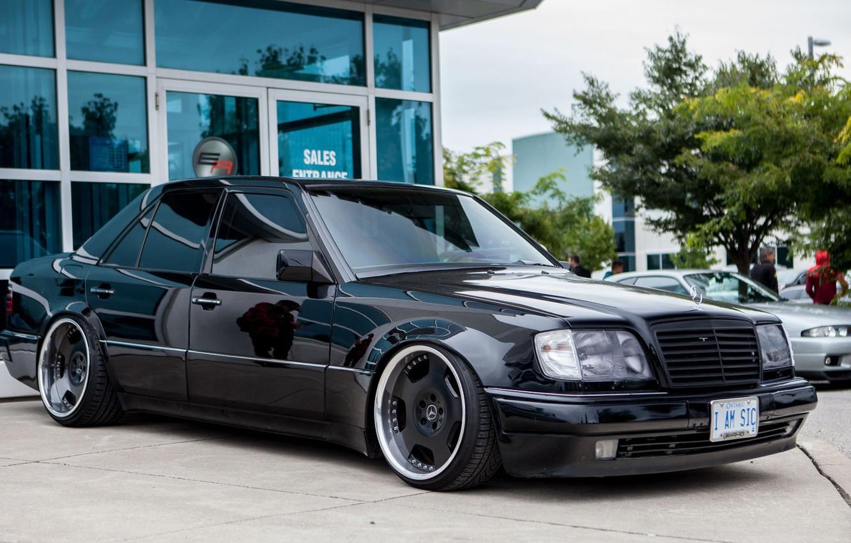 Фото обои e500, Mercedes - Benz, w124