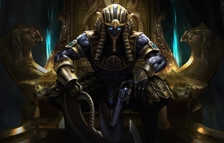 Врата Посвящения Egyptian-pharaoh-ares-by-ares-horus-god-art-fantasy-tron-egi