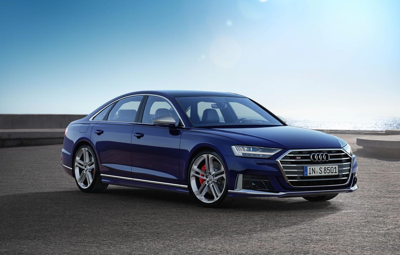 Фото обои Audi, Audi S8, Worldwide, 2019
