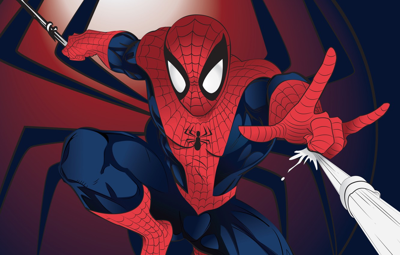 Фото обои Marvel, Comics, Peter Parker, Spider Man