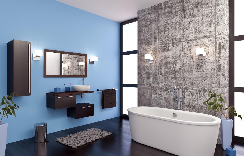 Фото обои дизайн, интерьер, ванная, ванная комната