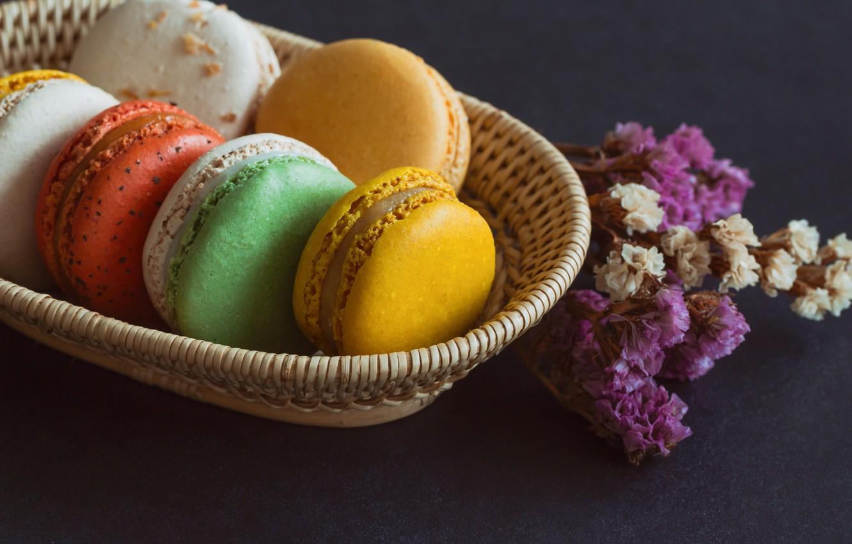 Фото обои colorful, десерт, пирожные, сладкое, sweet, dessert, bright, macaroon, french, macaron, макаруны