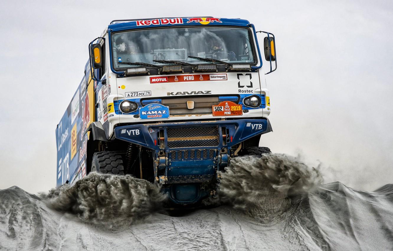 Обои грузовик, гонка. Автомобили foto 7