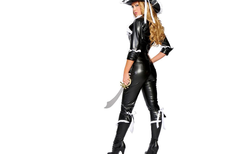 Фото обои девушка, оружие, пираты, косплей-модель