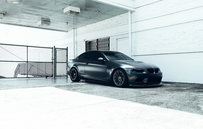 Фото обои BMW, Car, E92, Fast, M3