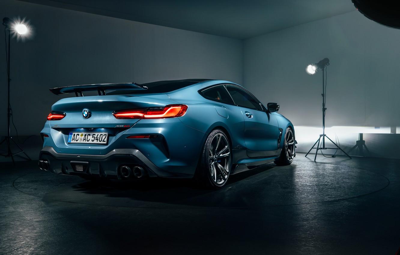 Фото обои BMW, вид сзади, 2018, AC Schnitzer, ACS8, 8-Series, M850i, XDrive